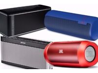 **~ALL BLUETOOTH WIRELESS SPEAKERS - SOUND DOCKS - SOUND BARS WANTED~**