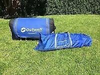 Outwell Montana 6 amazing family tent with extension!