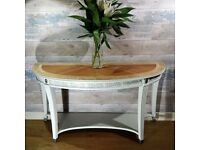 Demi Lune Console table Large