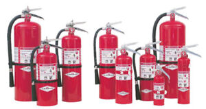 NEW AND RE-CERTIFIED FIRE EXTINGUISHERS AVAILABLE FOR SALE
