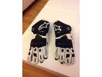 Alpinestars gp pro motorbike gloves