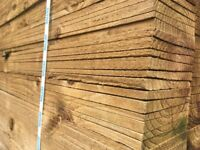 Feather board timber