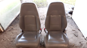 Ford explorer leather bucket seats
