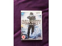 Call of Duty: World at War Nintendo Wii (used)