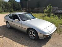 Porsche 924 2.0i dry stored 9 years, serviced and mot'd