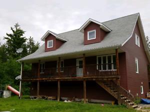 custom built Douglas home on 20acres