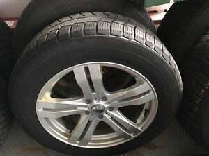 18 inch rims with TPMS and winter tires