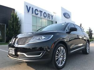 2016 Lincoln MKX Reserve, Panoramic, Navigation, Active Park Ass