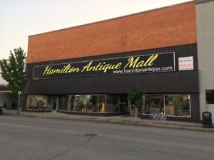 Hamilton Antique Mall, 233 Ottawa Street N, 34000 SQ FT $120.00