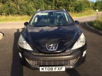 2008 08 Peugeot 308 SW 1.6 HDI Full Leather **7 Seater** 1 Owner In Very Good Condition 2 Keys PX
