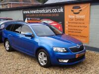 SKODA OCTAVIA SE 1.6 TDI CR, Blue, Manual, Diesel, 2015 Only 34k Mile