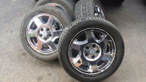 4-P225 50 16 Tires on Saturn 5 bolt wheels