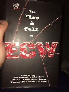 WWE Books - The Rise and Fall of ECW