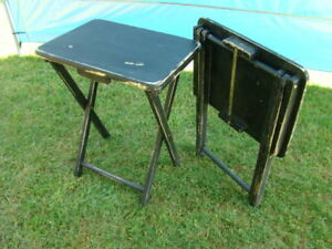 Two Folding Side Tables $20 each