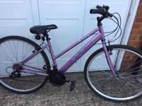 Ladies hybrid bike very good bike