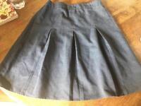 2 Girl's Grey School Skirts - SOLD stc
