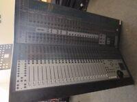 Digidesign Control 24 Sound Desk Pro Tools Control Surface Focusrite ***PSU Fault***
