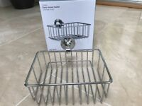 John Lewis Deep Shower Basket