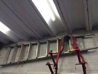 "Aluminium 7' 6"" ladders"