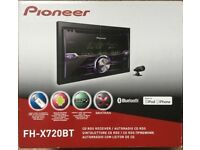 Pioneer Bluetooth Double Din Head Unit Brand New