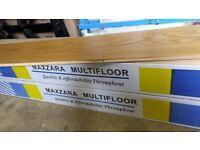 Oak Flooring 2 packs, total 5.7m2, Prime Engineered European Oak boards, with micro-bevel