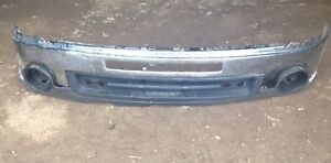 Front bumper and wind skirt