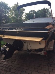 Boat Peterborough 1983, 21 ft, 700hs+ trailer, 3700$,quick sale