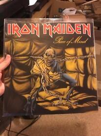 Iron maiden vinyl record lp