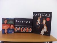 Friends DVD box set plus Friends book and addtional DVD see photos