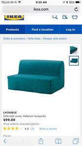 IKEA sofa bed cover -LYCKSELE - $70