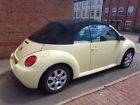 VW Beatle CONVERTABLE 1.6 Only 68k