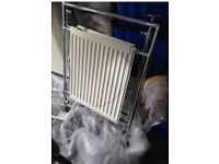 2 traditional towel rail radiators