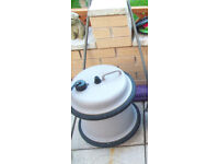 camping caravan aquaroll fresh water carrier container with handle