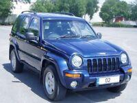 Jeep Cherokee 2.5Crd ltd Edition. Full Mot. Full History 82000Miles. 1 FormerOwner. Clutch&Belt Done