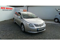 2012 TOYOTA 2.0 D-4D TR TURBO DIESEL ESTATE,ONLY 61000 MILES WITH FULL SERVICE