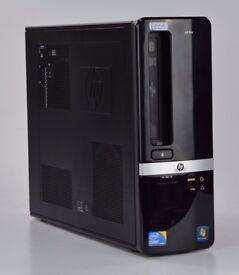 WINDOWS 7 HP PRO 3130 SFF COMPUTER INTEL i3 3.20 DUAL CORE PC - 4GB RAM - 320GB