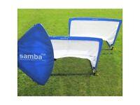 Samba Elite Square Pop Up Goals 4ft - Pair
