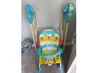 Fisher price 3 in 1 swing seat rocker