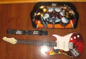 **Paper Jamz drum kit and guitar for sale EUC