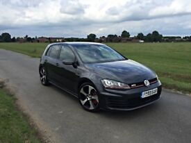 2014 63 VW GOLF GTI MK7 PERFORMANCE PACK 300BHP 5DR HPI CLEAR FSH FULLY LOADED