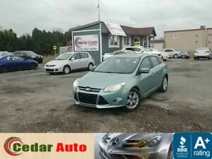 2012 Ford Focus SEL - Leather - Moonroof