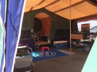 Raclet Quickstop Trailer Tent with 2 Awnings