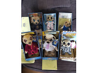 Meerkat toys, six different characters