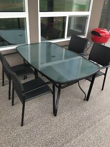Outside table and chairs