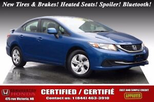 2013 Honda Civic Sedan LX Certified! New Tires & Brakes! Heated