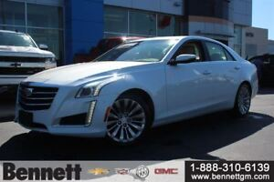 2015 Cadillac CTS AWD 3.6L with Nav + Heated Steering Wheel