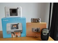 Canon Powershot A460 Digital Camera and Canon Selphy CP730 Photo Printer Package