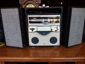Silvertone 4 Track Reel to Reel recorder player  Simpson Sears