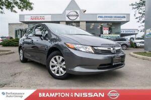 2012 Honda Civic LX *ECON|Bluetooth|Power package*