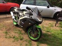 Kawasaki ninja xz6r 12 months mot